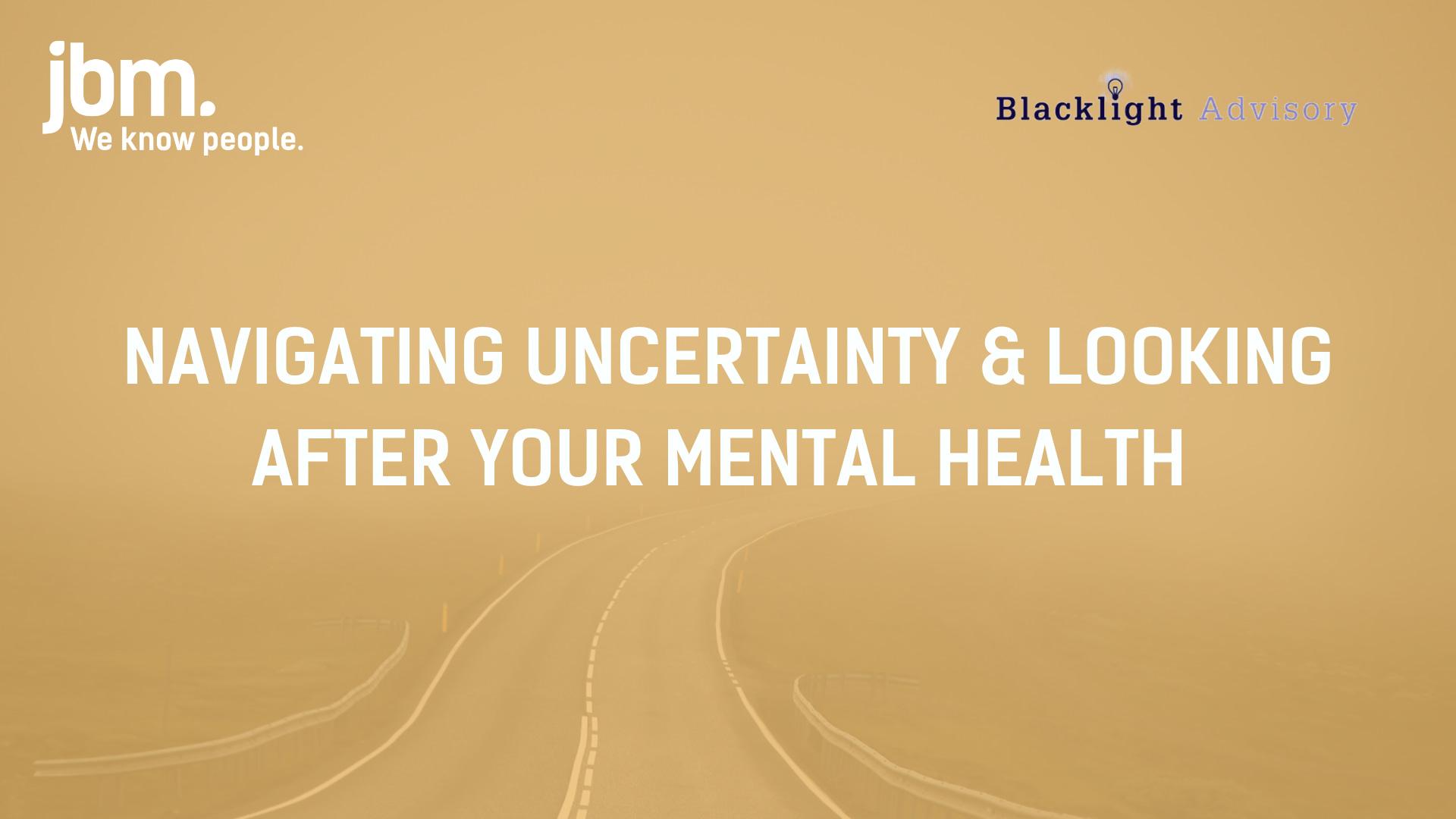 Navigating uncertainty webinar